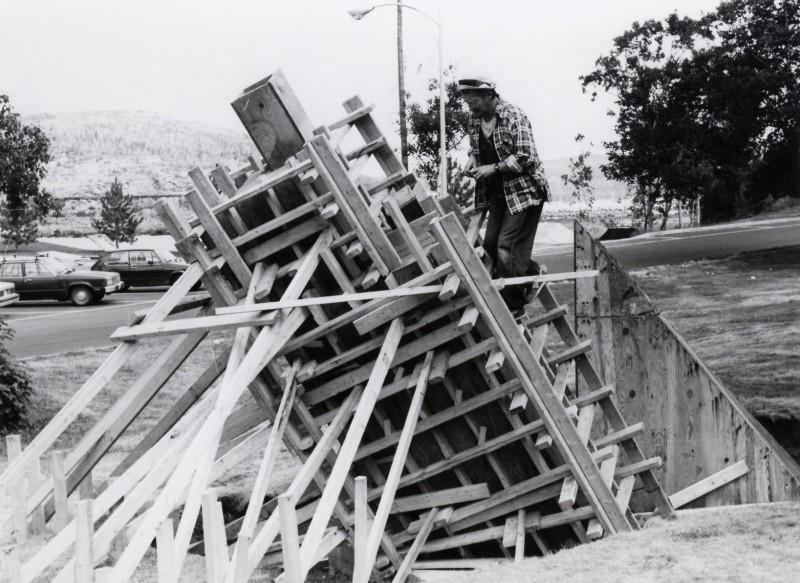 Germain Desbiens, Avant Age, 1987. Symposium de Baie-Comeau.