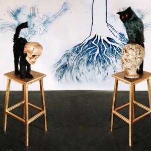Christine Palmiéri, L'être des objets, 2010. 200 cm x 250 cm x 160 cm. GRAVE, Victoriaville. Photo: Christine Palmieri.
