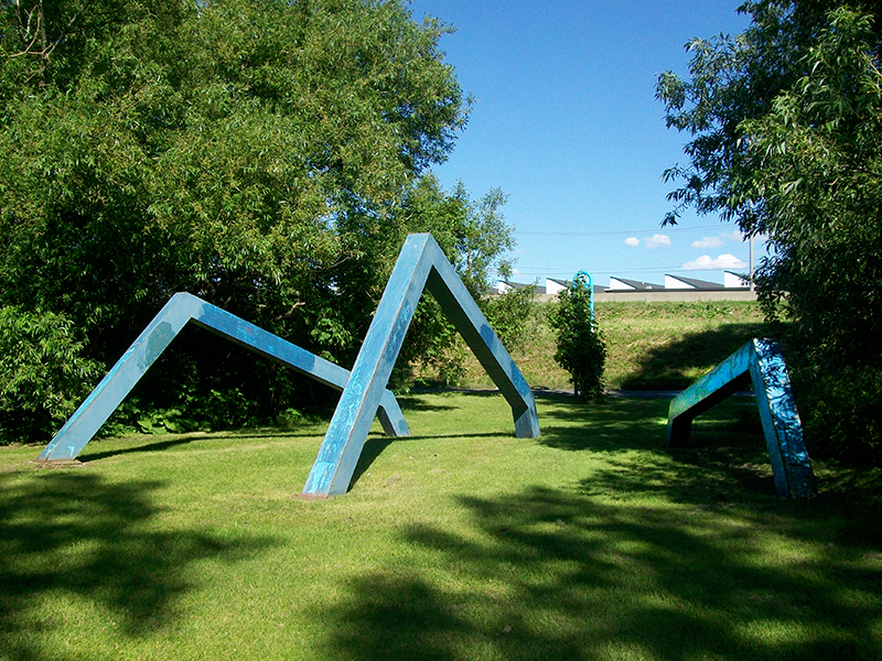 Claude-Paul Gauthier, Absolis, 1972. Monuments et sculptures de l'arrondissement Vieux-Longueuil. Photo : Alexandre Nunes.