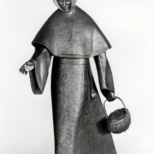 Raoul Hunter, Mère Émilie Gamelin. Bronze. Place Émilie-Gamelin, Montréal. Photo: Robert Etcheverry.