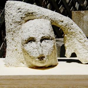 Claude Sabourin, Penseur,1990. Projet pour monument, plâtre, 25 cm. Photo avec l'aimable autorisation de l'artiste.