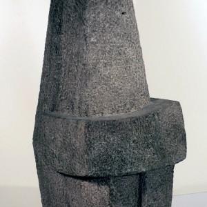 Marc Boisvert, Sans titre, 1965. Pierre Indiana. 81,5 x 39 x 36,5 cm. Photo avec l'aimable autorisation du Musée des Beaux-Arts de Sherbrooke.