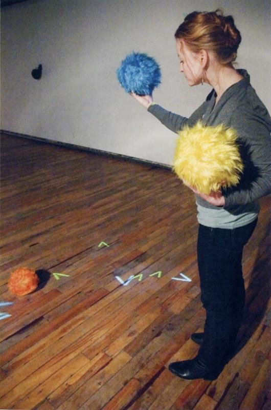 Marc Fournel, Flock, 2006. Installation interactive. Photo : Dave Kemp.