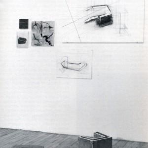 Johanne Gagnon, En reconnaissance II, 1993. Photographie et dessin. 145 x 220 x 134 cm. Photo : avec l'aimable autorisation de l'artiste.