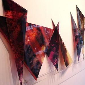 Lise-Hélène Larin, Objets mathématiques, 2009. 240 x 150 cm. Photo avec l'aimable autorisation de l'artiste.