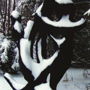 Gisèle Lefrançois, Enlacement, 2000. Ferociment. 218 x 170 x 137 cm. Photo avec l'aimable autorisation de l'artiste.