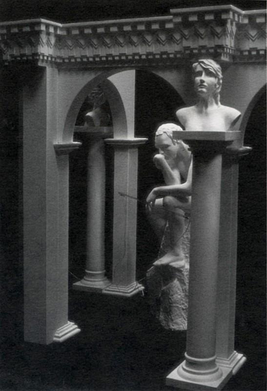 Alex Magrini, Hommage a Camille Claudel ou Ne tuez pas Rodin, 1987.