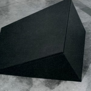 Guido Molinari,  Structure parallelogrammique, 1972. Photo : avec l'aimable autorisation de la Galerie Christiane Chassay.