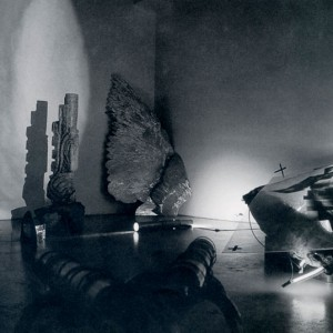 Alain Vaugier, Point tendu : l'espace d'un instant, 1996. Photo : Édith Martin, avec l'aimable autorisation de la Galène Verticale.